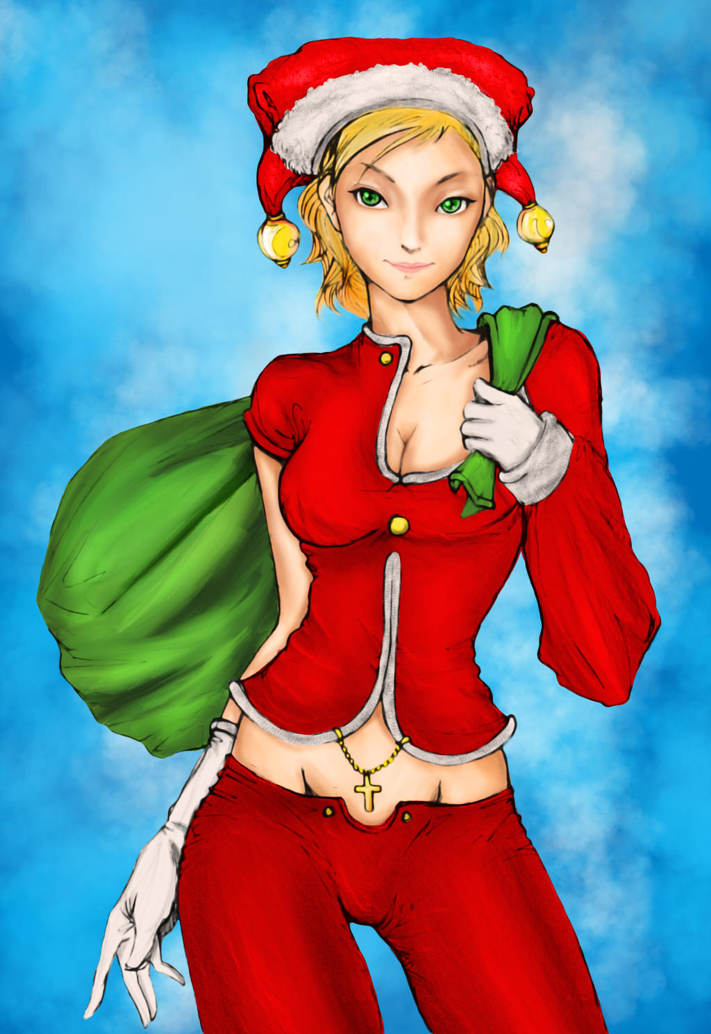Pepper Christmas colors by julianx16