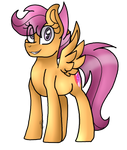 Mouse Challenge - Scootaloo