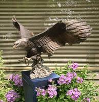 Bronze Eagle by franzenltd