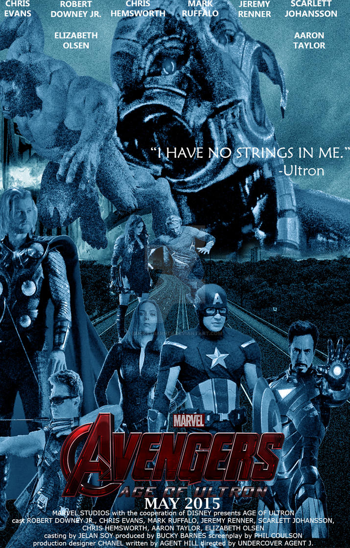 Avengers Age Of Ultron By Iloegbunam On Deviantart: AVENGERS:Age Of Ultron By BucketBarnes On DeviantArt