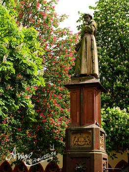 Brunnen am Freiburger Rathaus