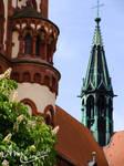 Turm der Herz-Jesu-Kirche - Freiburg