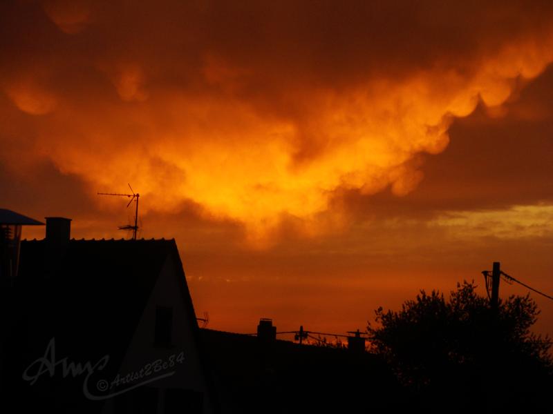 Sonnenuntergang - Sunset by Artist2Be84