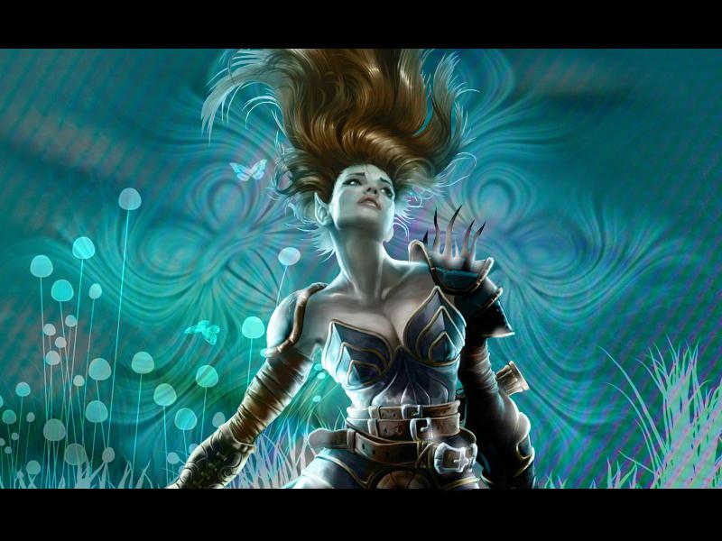 Neverwinter Nights - Aribeth by Chiqi