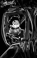 Steven Universe Sketch by OasisCommander51