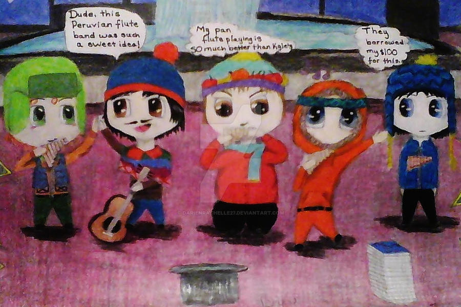 Peruvian Pan Flute South Park