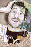 Lil Dicky Psychedelic Line Art
