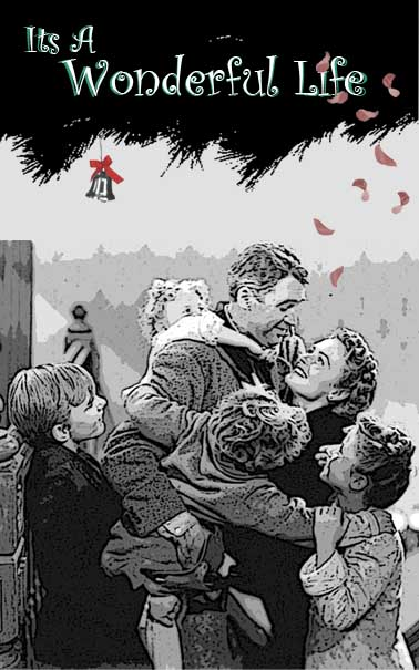 It's a wonderful life movie poster puzzle