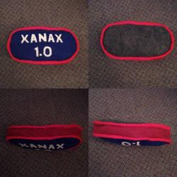 Xanax pillow remake by Jonathan Adler