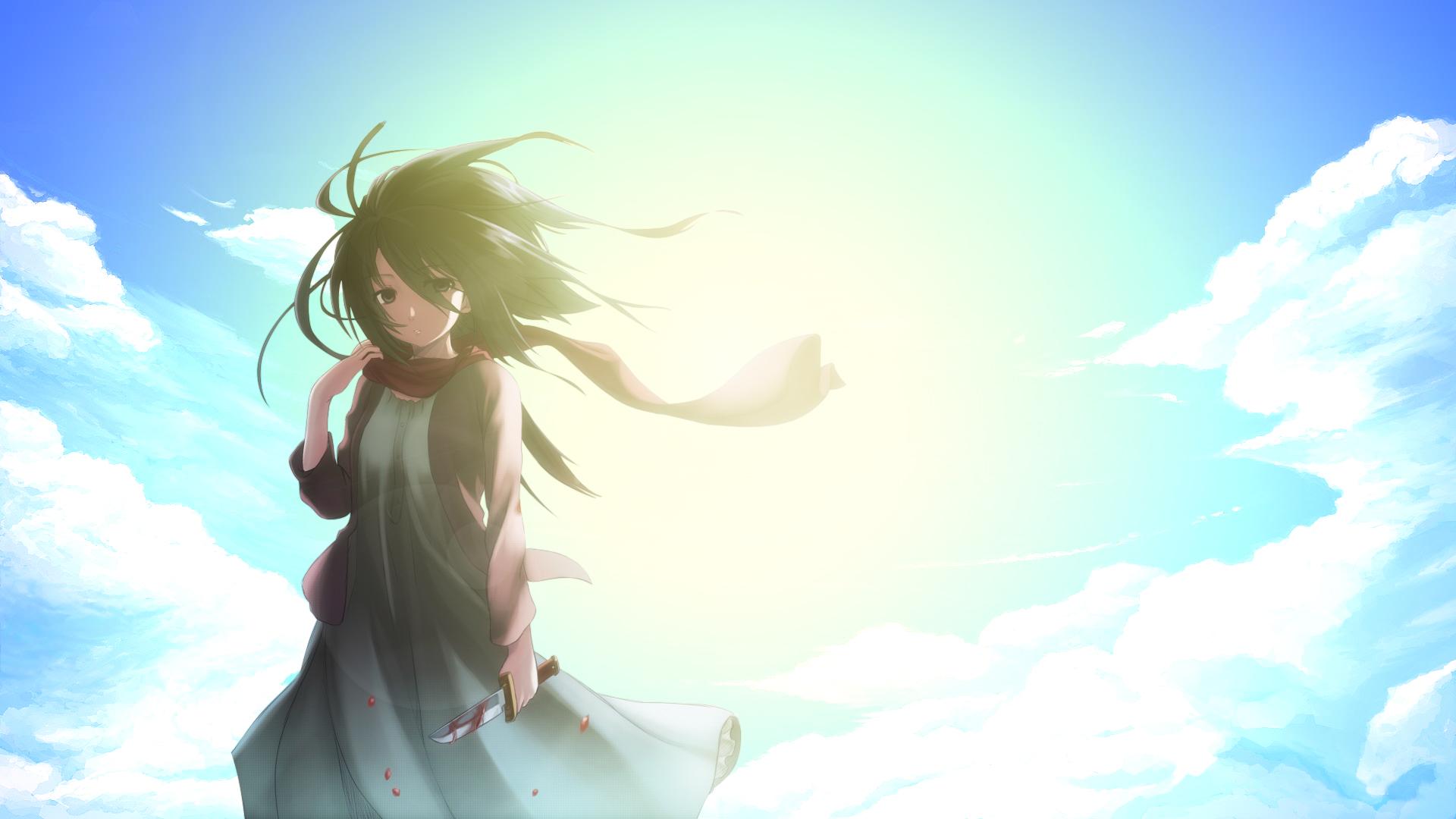 Mikasa Ackerman Wallpaper by girkua