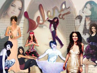 Selena Gomez Wallpapaer by determinatedrums