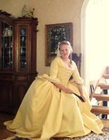 robe a la francaise by LadyCafElfenlake
