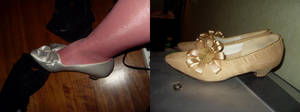 redressed shoes