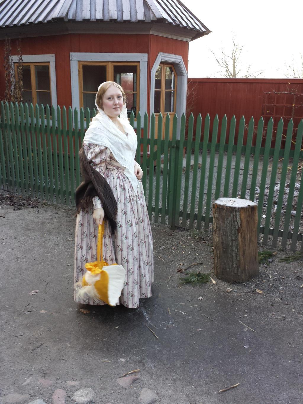 1830's day dress