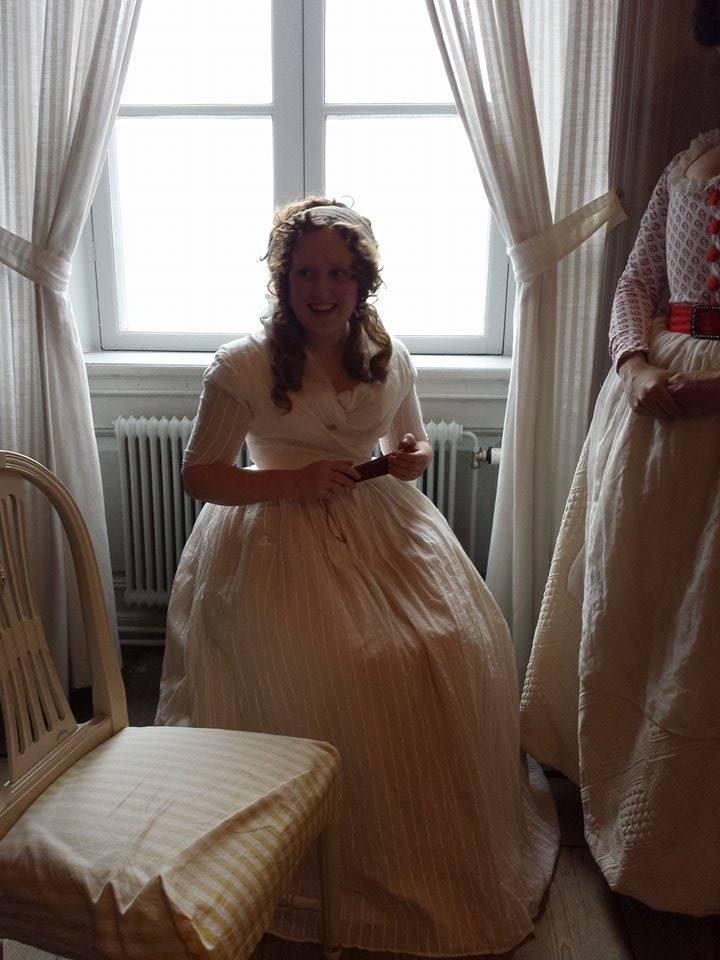 1790's dress by LadyCafElfenlake