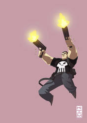Punisher for Christmas by KimJacinto