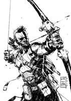 Hawkeye by KimJacinto