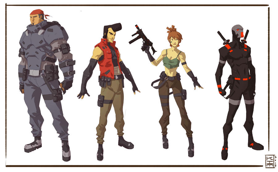 Character Design Kimjacinto Wild West Online Official Gamepl