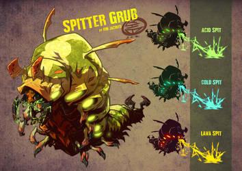 Spitter Bug by KimJacinto