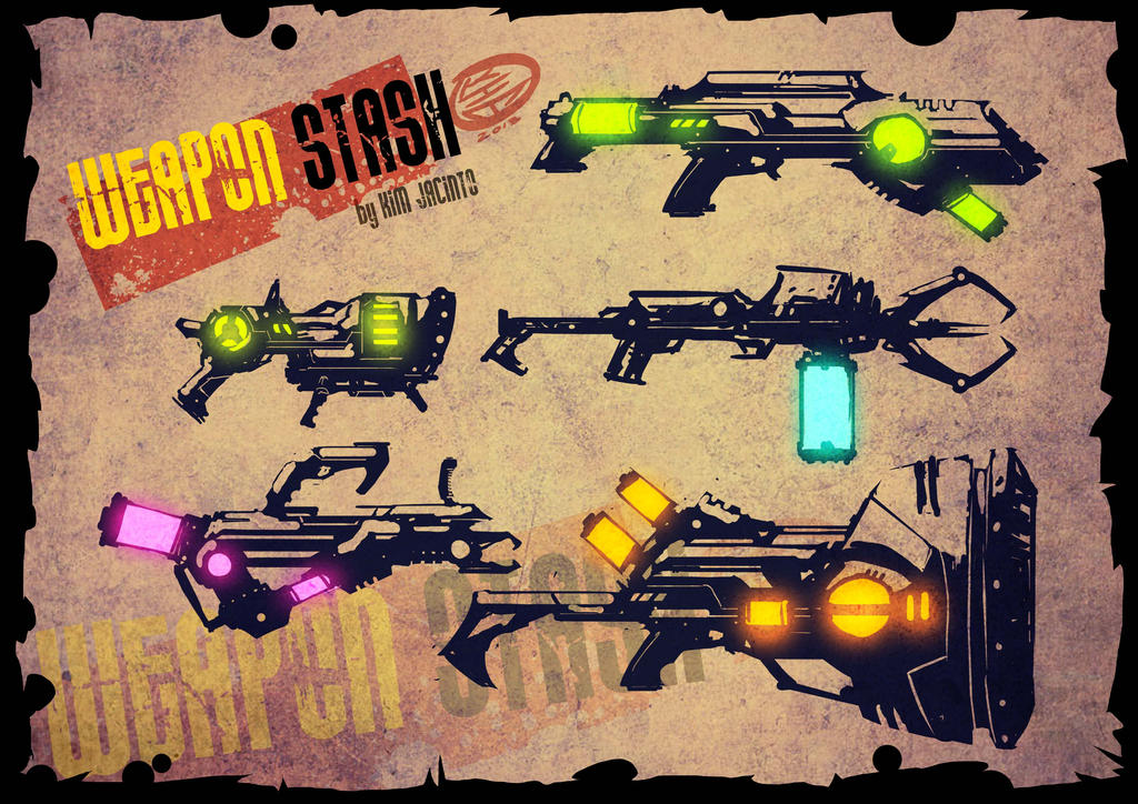 WEAPON STASH by KimJacinto