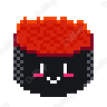 Gunkan Sushi - Pixel Art by Dettimp
