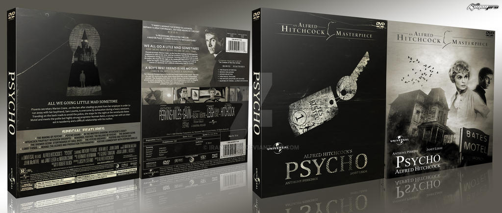 Psycho Box Art by irancover