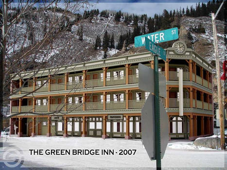 green bridge inn - render