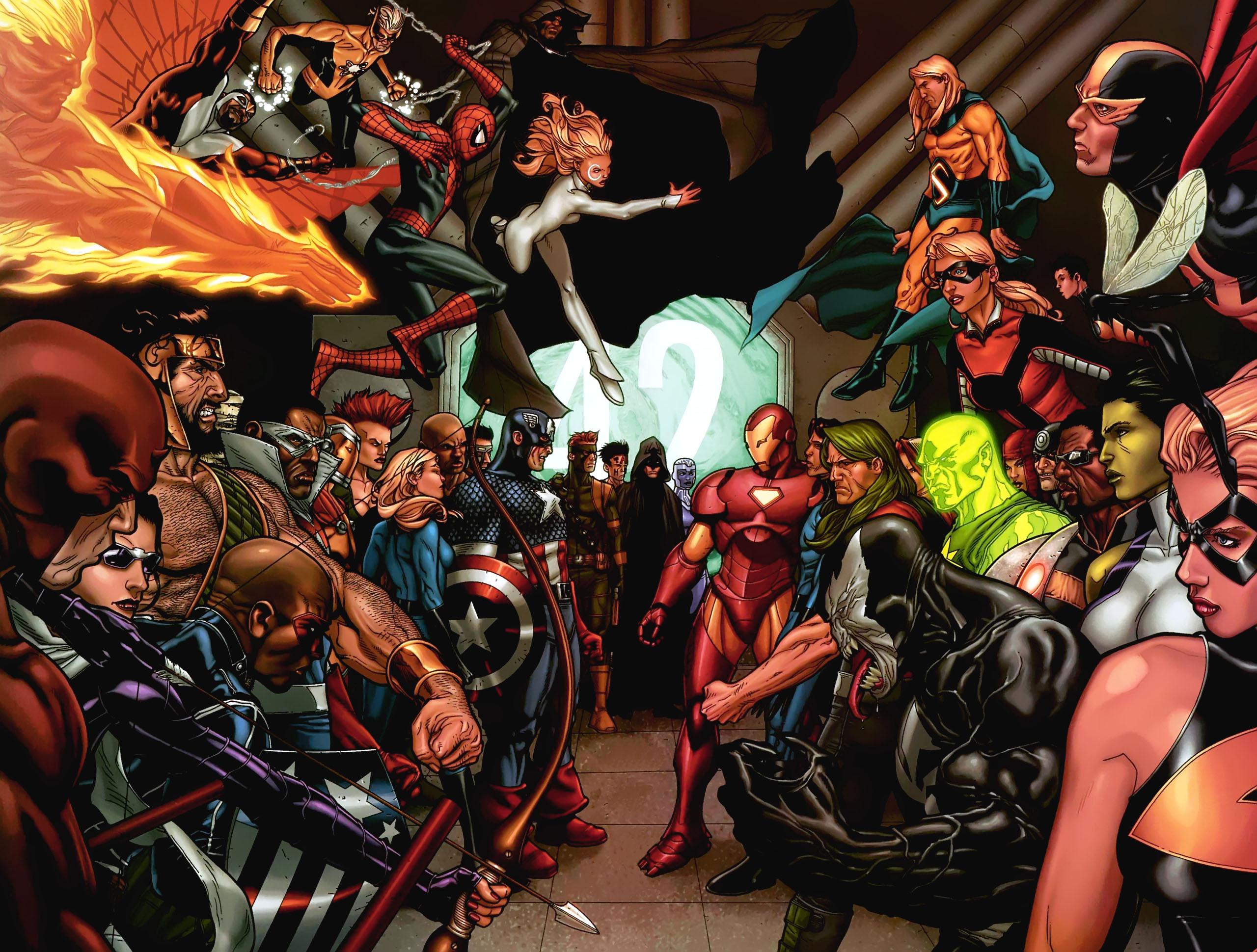 Marvel Civil War vol.6 P.23,24 by Me2fly4u2c4life