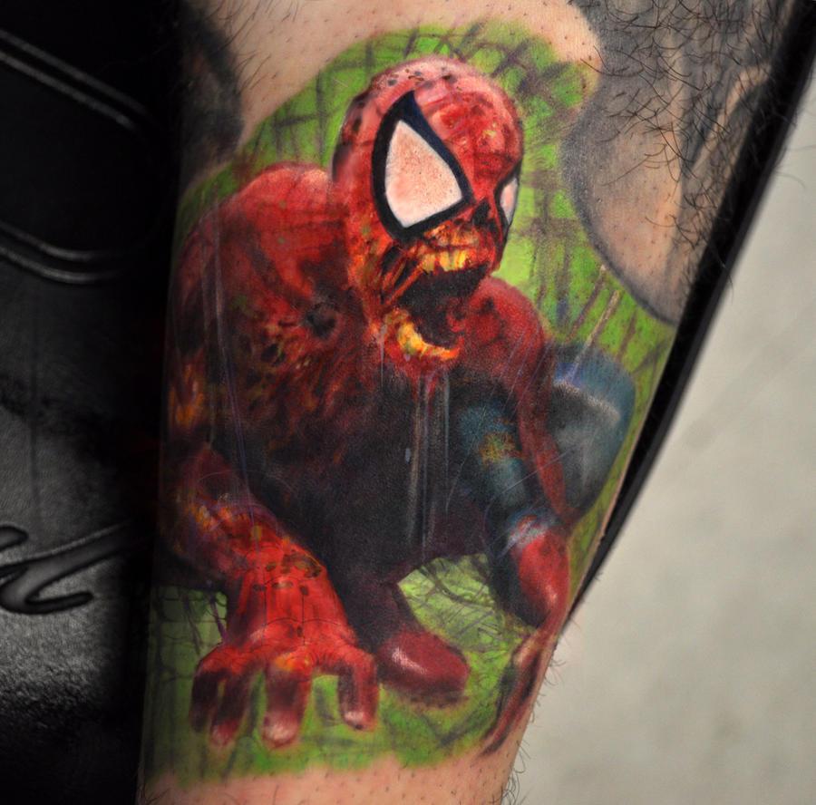 Zombie Spiderman by ScottVersago