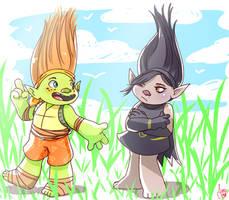 Shiniangelo Trolls version by JaessJinx