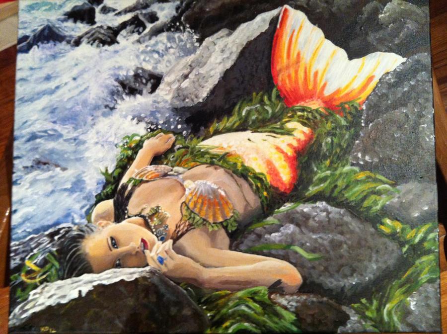 Mermaid Raven by Meerkatie