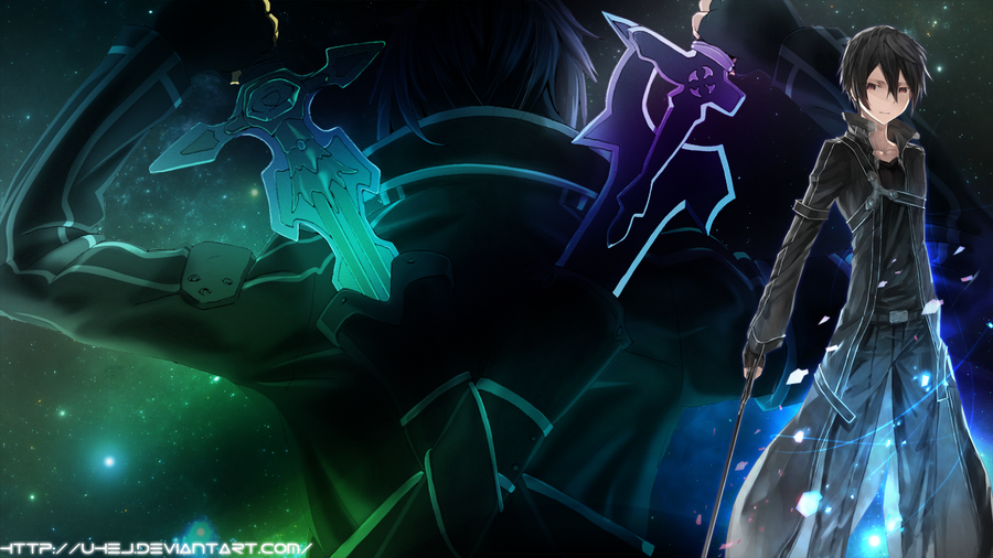 Sword Art Online Background: Sword Art Online Wallpaper 02 Ver.1 By Uhej On DeviantArt