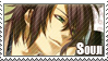 Stamp: Okita Souji by Luxuriah