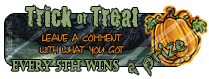 Subeta: Trick or Treat Button by Luxuriah