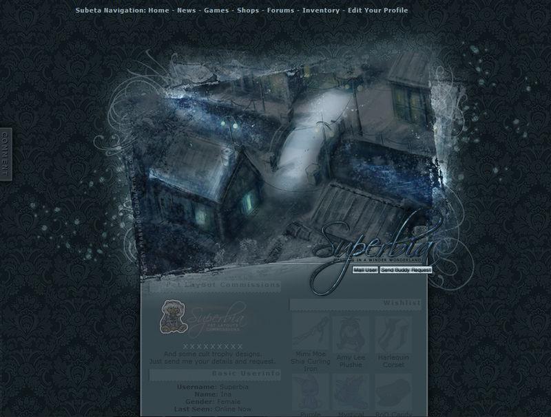 Subeta: Winter User Profile