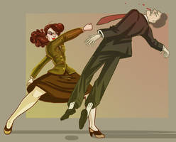 Agent Carter by Larkie-Star