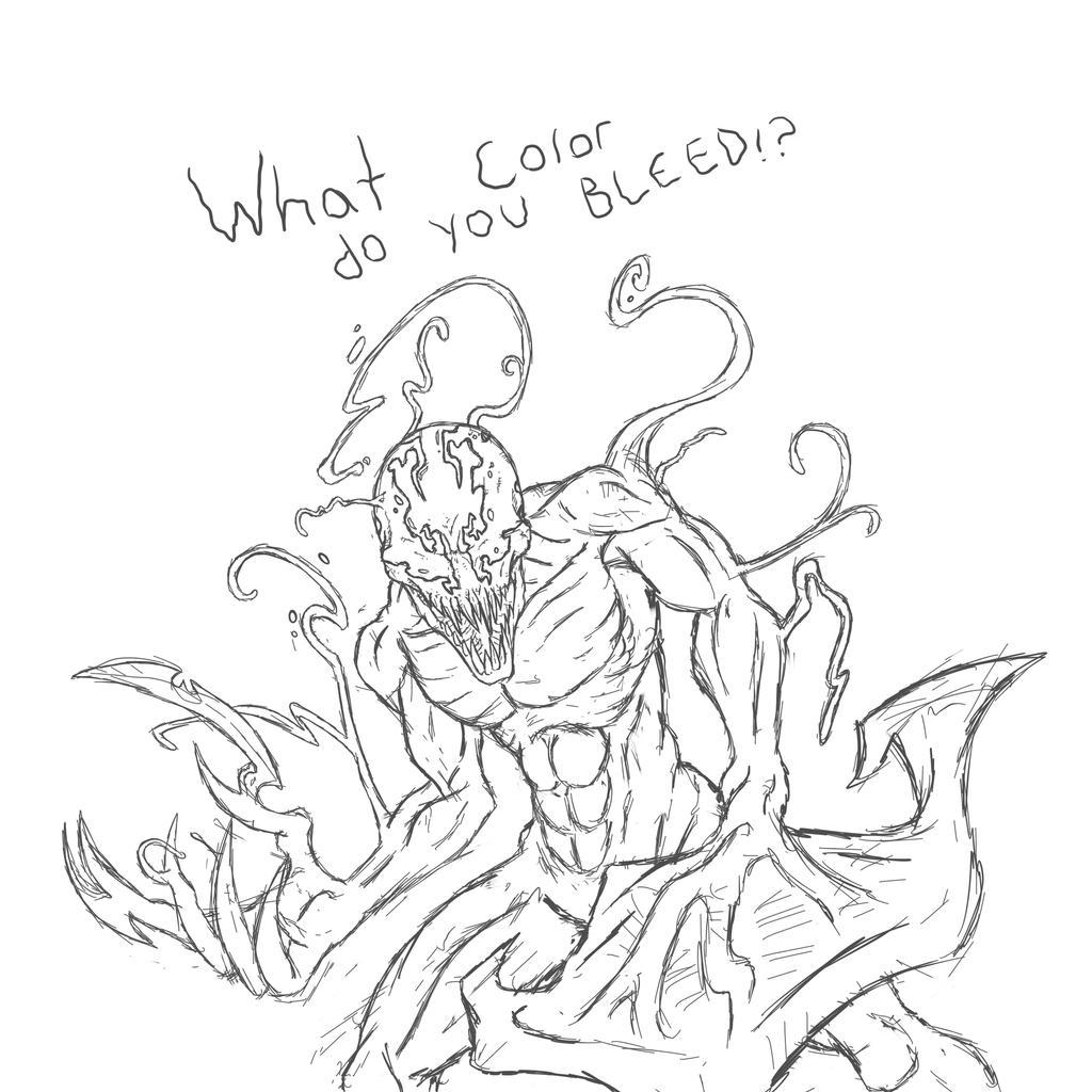 carnage doodle by gridalien on deviantart