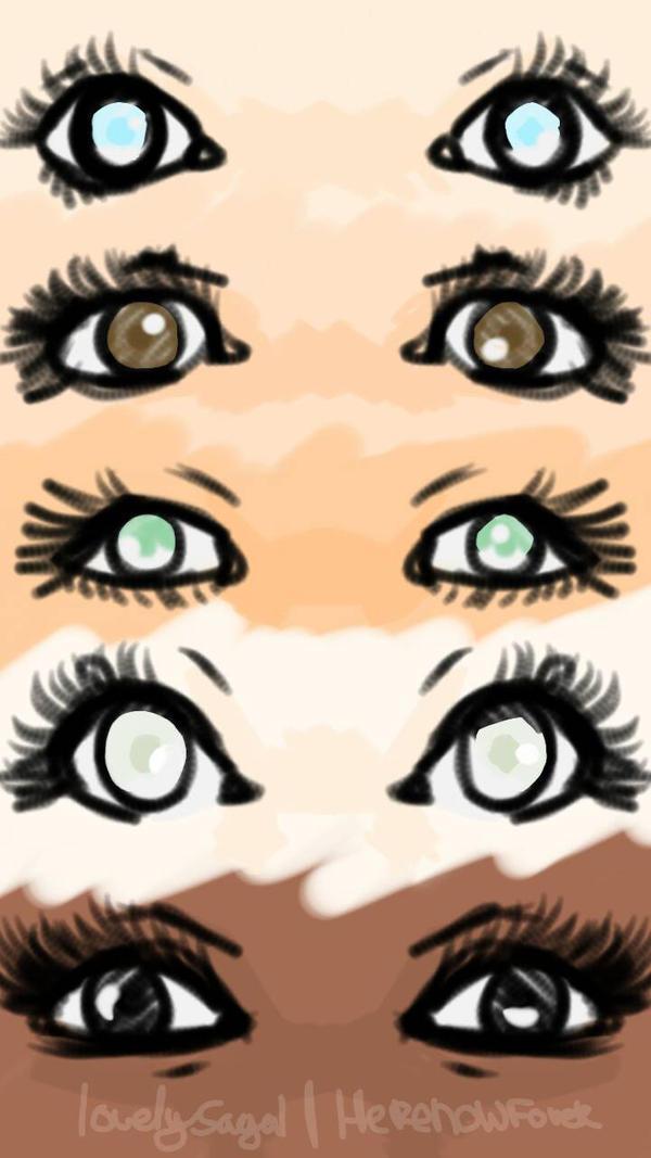 eyes , eyes and eyes by lovelysagal