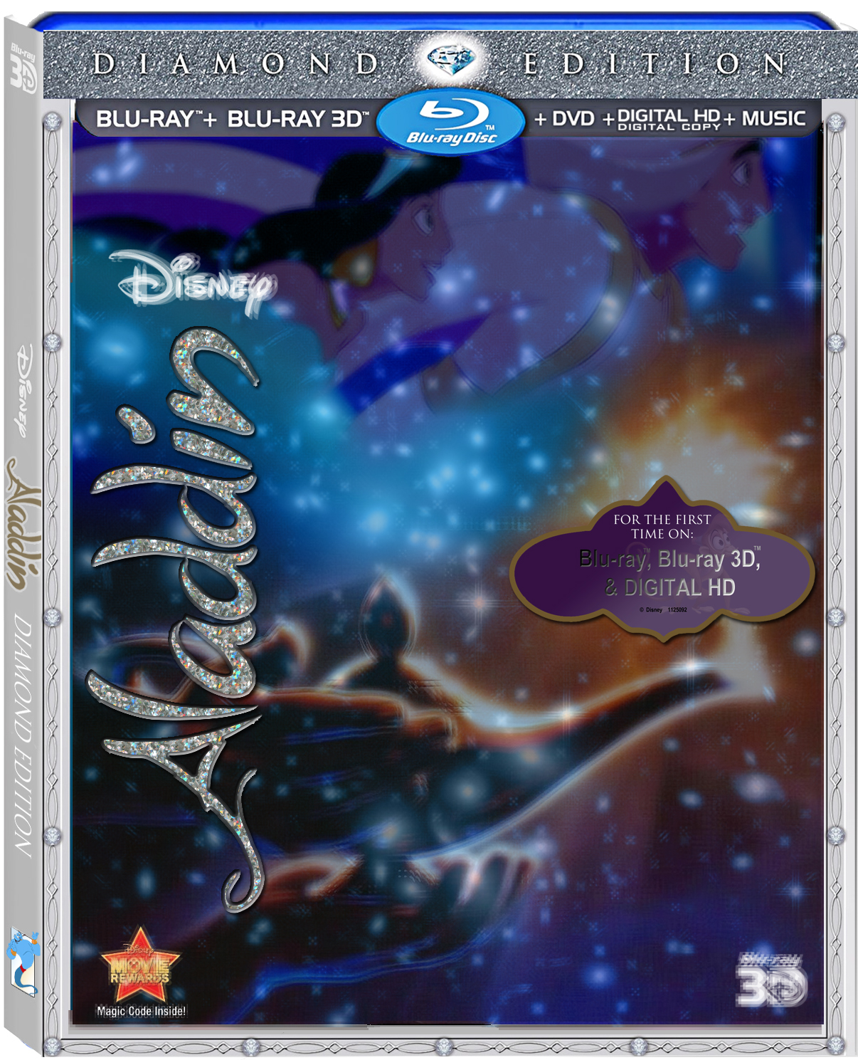 Aladdin blu ray release date