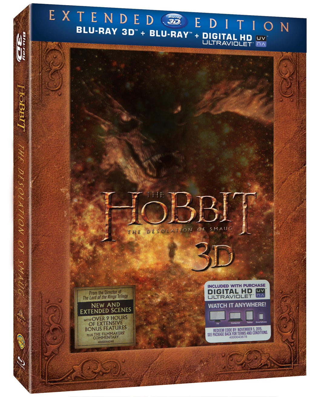 The Hobbit: The Desolation Of Smaug - Extended Edition Blu ...