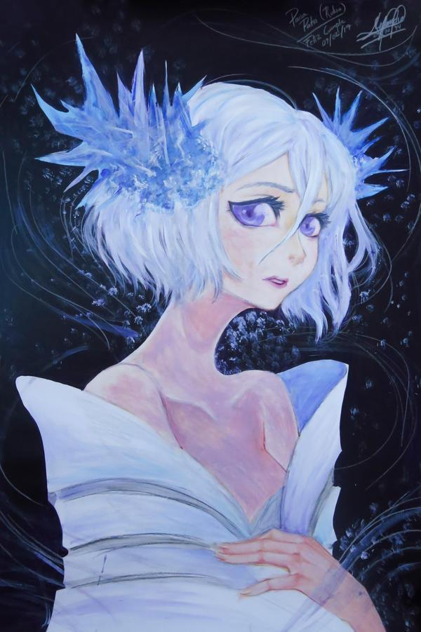 Snow Rukia - Hakka no Togame by Alex-ChibiNeko
