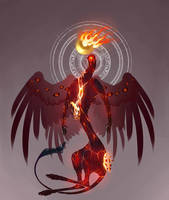 Fire Angel Adoptable auction CLOSED
