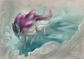 Suicune by mextag00