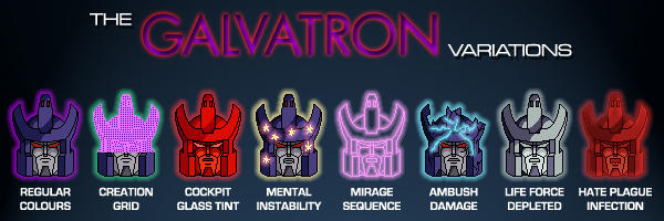 The Galvatron Variations
