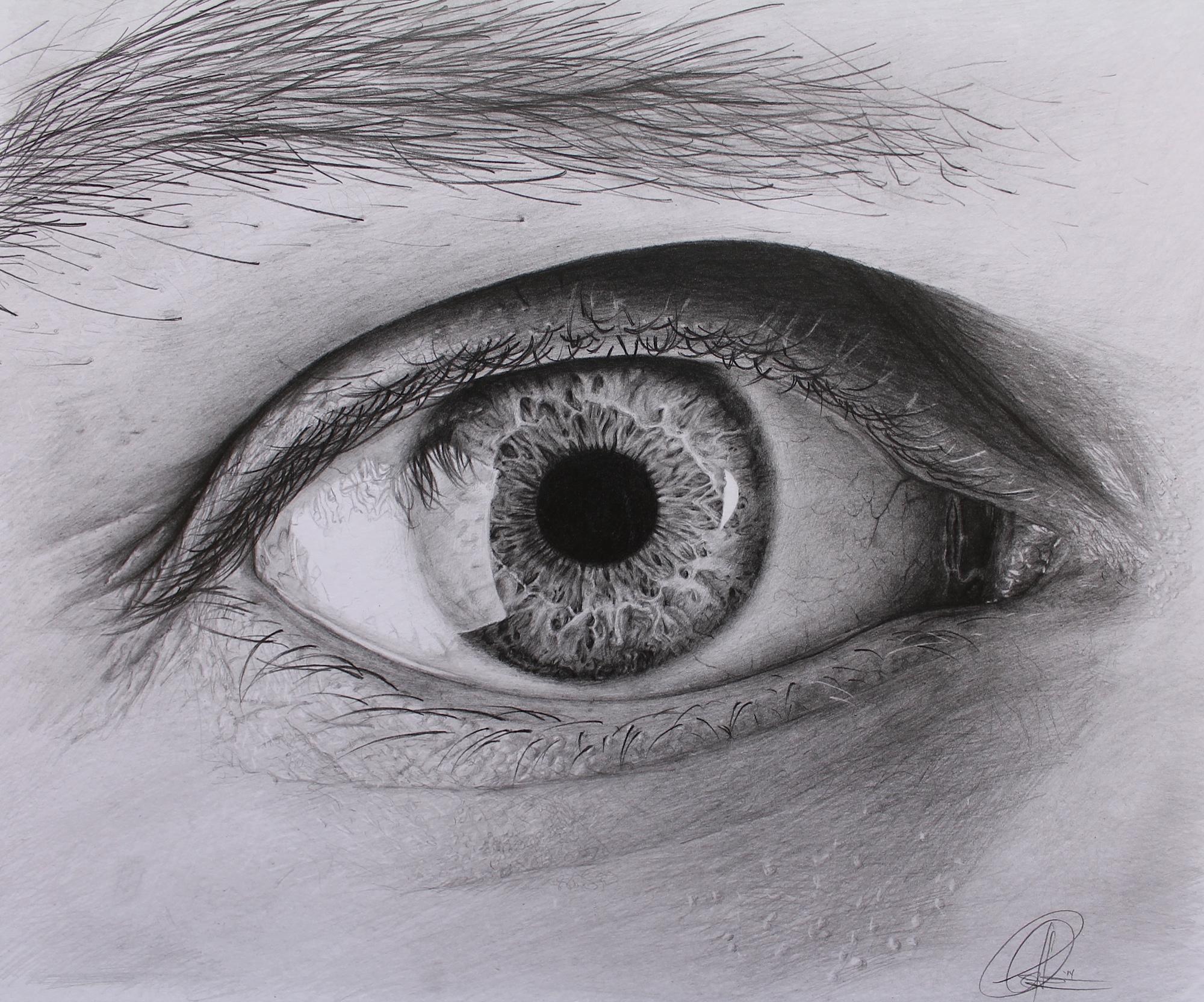 Eye Drawing by ChrisHerreraArt on DeviantArt
