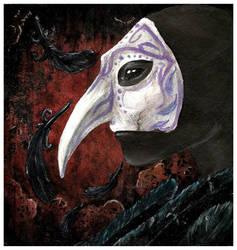 raven's masque by dementedsped