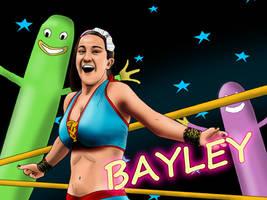 NXT Diva Bayley by AllenThomasArtist