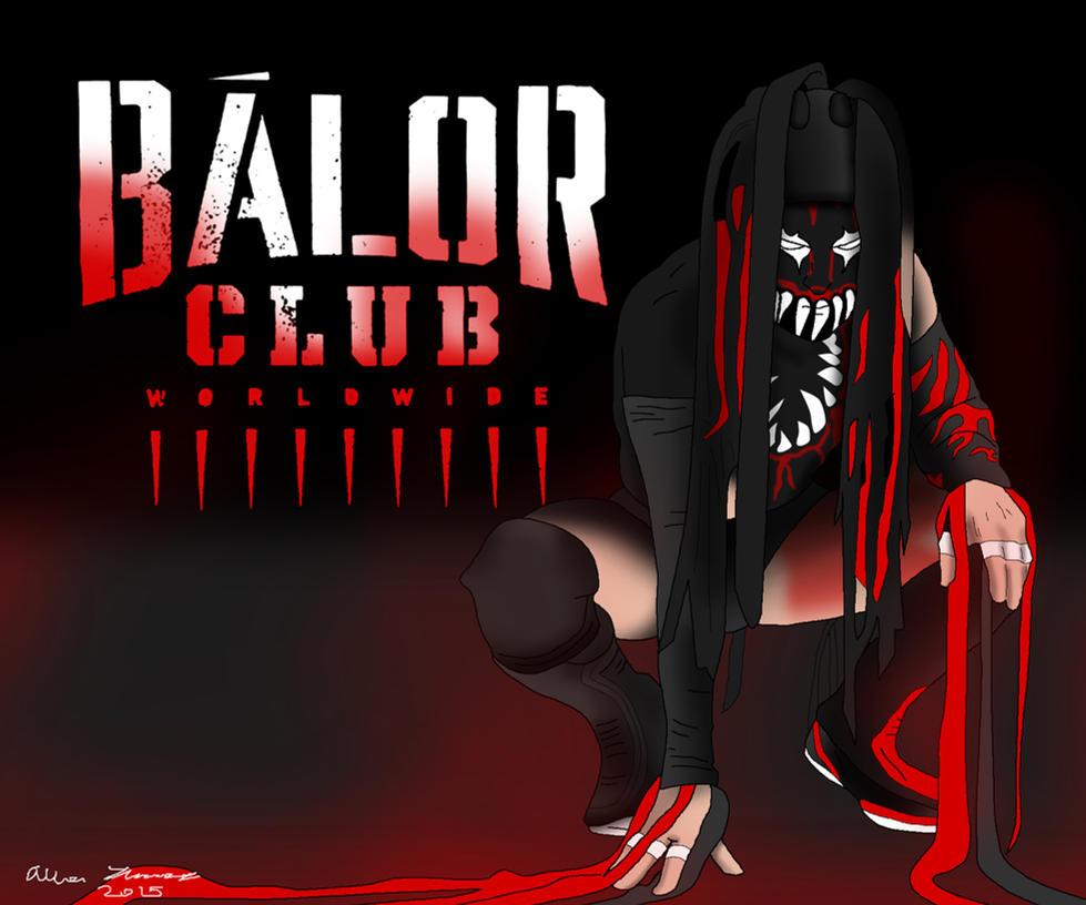 NXT Champion Demon Finn Balor by AllenThomasArtist on DeviantArt