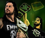 Money In The Bank 2016 Rollins vs Reigns Drawing
