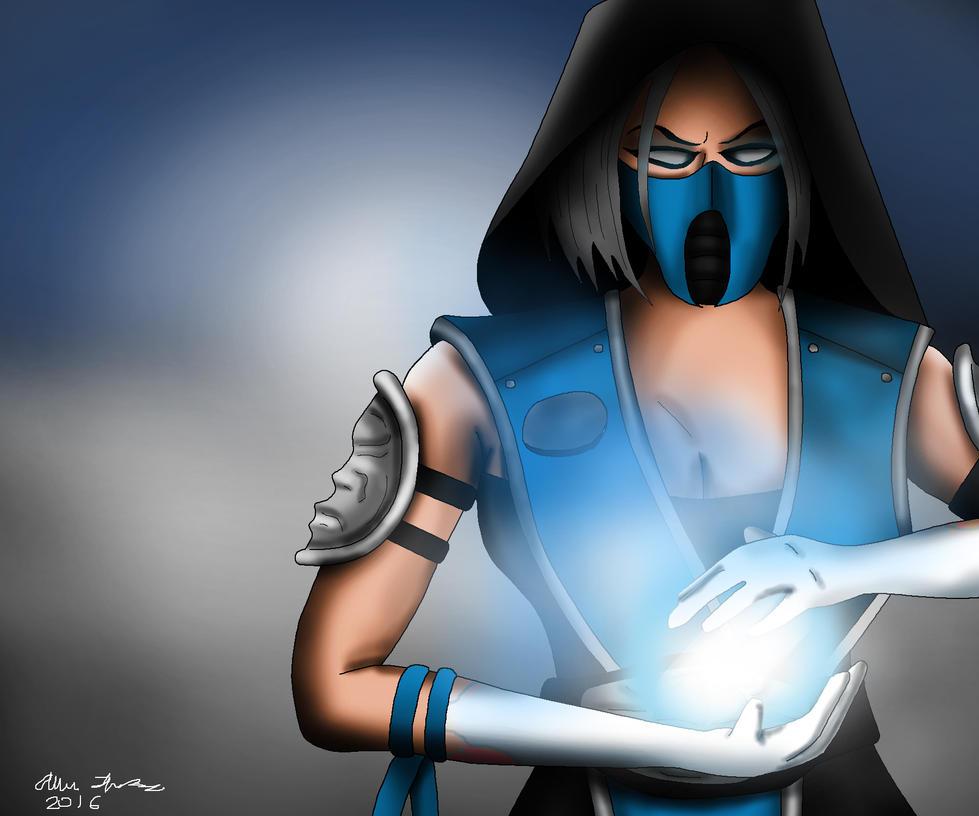Frost Mortal Kombat Drawing By AllenThomasArtist On DeviantArt